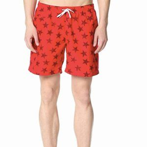 NWT Trunks Surf & Swim Co. Swim shorts stars small
